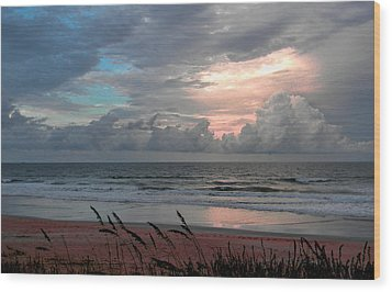 Flagler Beach Wood Print