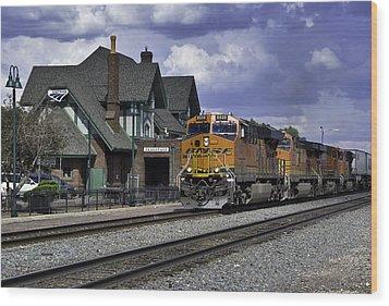 Flagstaff Station Wood Print