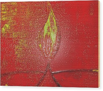 Flame Of Deepawali Wood Print