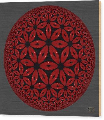 Flamenco Wood Print by Manny Lorenzo
