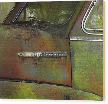 Fleetmaster  Wood Print by Deborah Smith