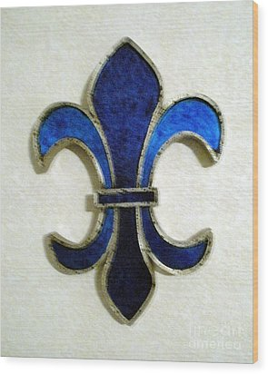 Wood Print featuring the photograph Fleur De Lis by Joseph Baril
