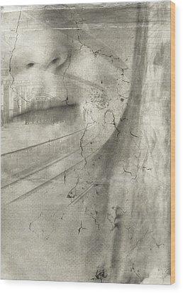 Flight Wood Print by Chantal Scholten