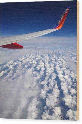 Flight Home Wood Print