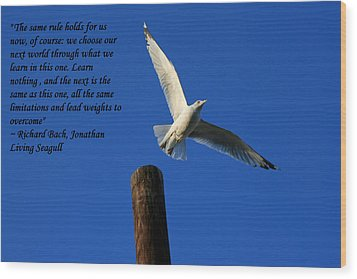 Flight To Freedom Wood Print
