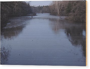 Wood Print featuring the photograph Flint River 1 by Kim Pate