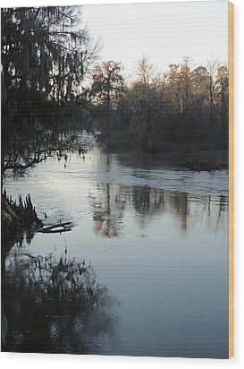 Wood Print featuring the photograph Flint River 20 by Kim Pate
