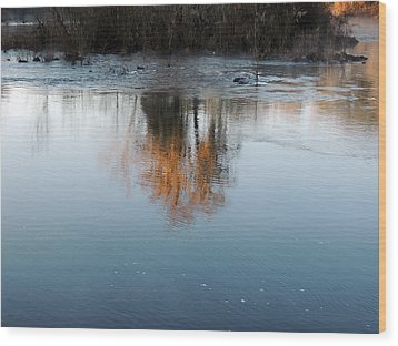 Wood Print featuring the photograph Flint River 21 by Kim Pate