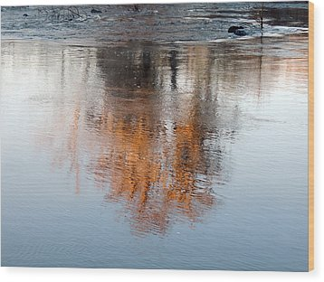 Wood Print featuring the photograph Flint River 22 by Kim Pate