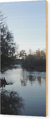 Wood Print featuring the photograph Flint River 23 by Kim Pate