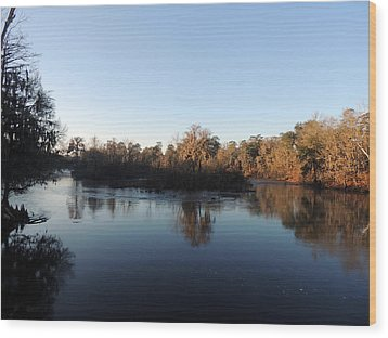 Wood Print featuring the photograph Flint River 26 by Kim Pate