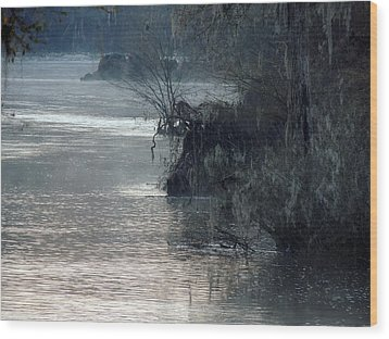 Wood Print featuring the photograph Flint River 28 by Kim Pate