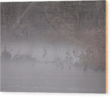 Wood Print featuring the photograph Flint River 7 by Kim Pate