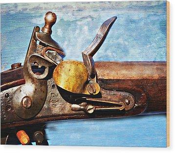 Flintlock Wood Print by Marty Koch