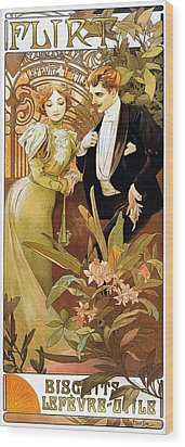 Flirt Wood Print