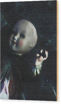 Floating Doll Wood Print by Joana Kruse