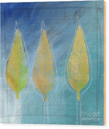 Floating Wood Print by Linda Woods
