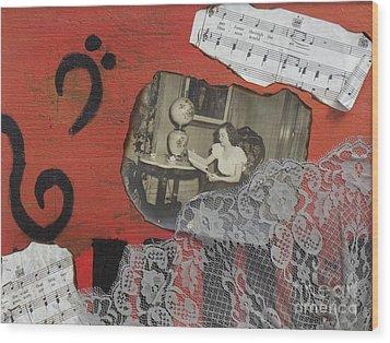 Floating Memories Wood Print