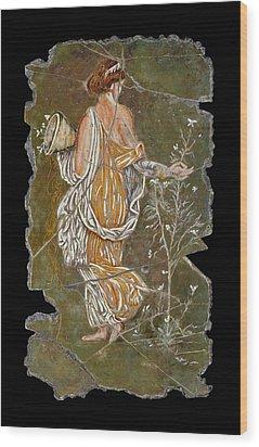 Flora Wood Print by Steve Bogdanoff