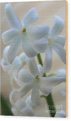 Floral Design Wood Print by Neal Eslinger