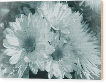 Wood Print featuring the photograph Floral Serendipity by Cathy  Beharriell