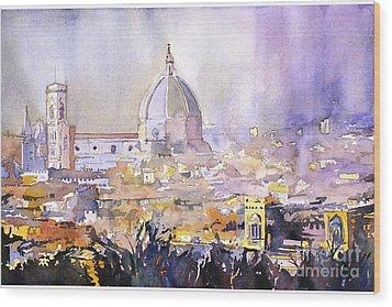 Florence Duomo Wood Print by Ryan Fox