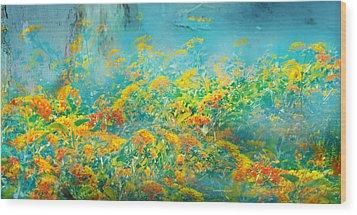 Flores De Ayamonte Wood Print