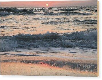 Florida Pastels Wood Print by Adam Jewell