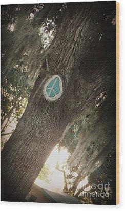 Florida Peace Wood Print
