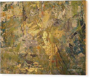 Florida Shine Wood Print by Nancy Kane Chapman
