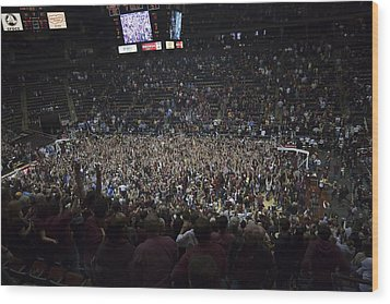 Florida State Seminoles Donald L. Tucker Arena Wood Print by Replay Photos