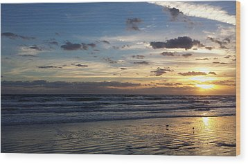 Wood Print featuring the photograph Florida Sunrise by Ally  White