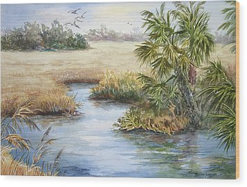 Florida Wilderness IIi Wood Print
