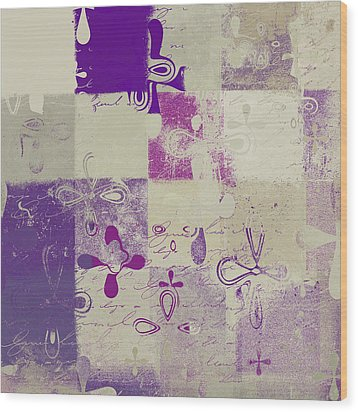 Florus Pokus 02d Wood Print by Variance Collections