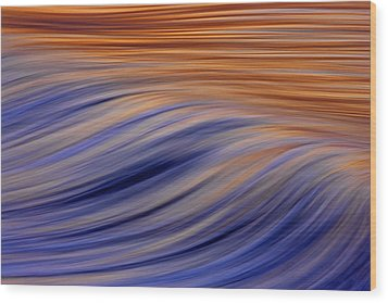 Flow  C6j7812 Wood Print by David Orias