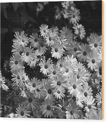 Wood Print featuring the photograph Flower Bouquet by Silke Brubaker