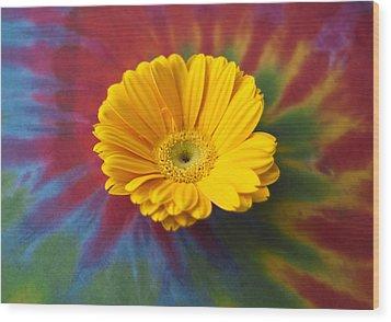 Flower Child Wood Print by Christi Kraft