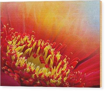 Flower Fragrance Wood Print by Lutz Baar
