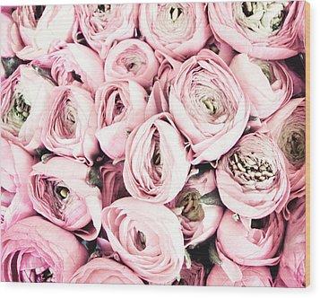 Flower Kisses Wood Print by Lupen  Grainne