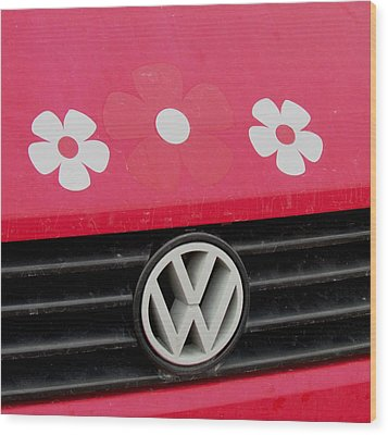 Flower Power Wood Print by Will Boutin Photos