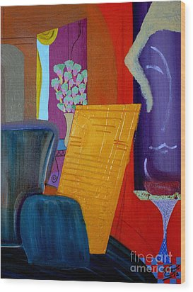 Flowers For Matisse Wood Print