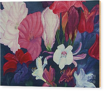 Flowers For Mother Wood Print