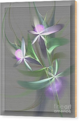 Flowers For You Wood Print by Svetlana Nikolova