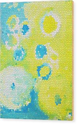 Flowers V Wood Print by Patricia Awapara