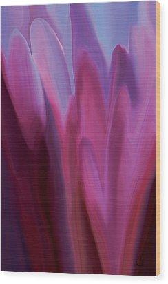 Flowery 1 Wood Print