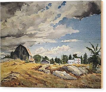 Floyd's Barn No. 2 Wood Print