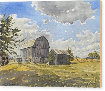 Floyd's Barn No.1 Wood Print