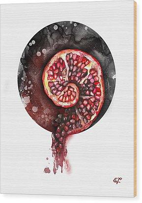 Fluidity 11 - Elena Yakubovich Wood Print by Elena Yakubovich