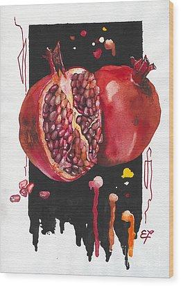 Fluidity 8 - Elena Yakubovich Wood Print