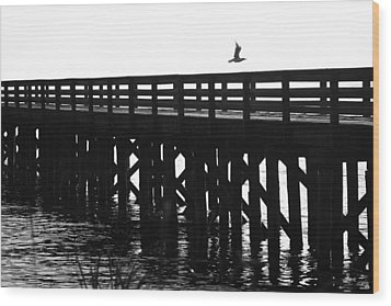 Wood Print featuring the photograph Fly Away by Sonya Lang